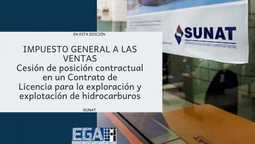 Cesión de posición contractual en un Contrato de Licencia para la exploración y explotación de hidrocarburos