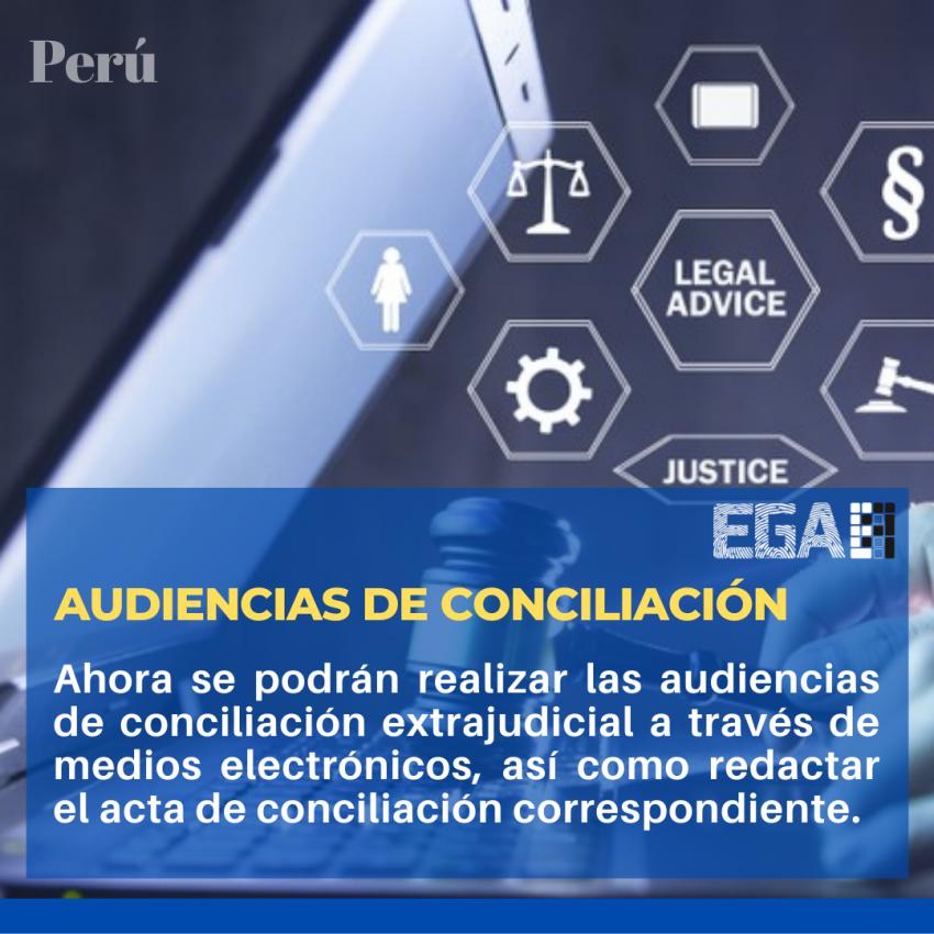 AUDIENCIAS DE CONCILIACIÓN SE PODRÁN REALIZAR VIRTUALMENTE
